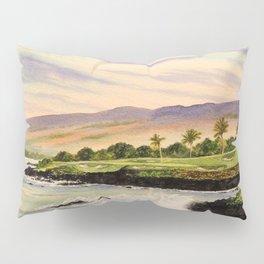 Mauna Kea Golf Course Hawaii Hole 3 Pillow Sham