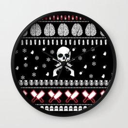 Ho Ho Horror! Wall Clock
