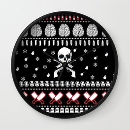 Ho Ho Horror! Wall Clock
