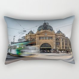 flinders station Rectangular Pillow
