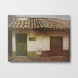 The House Metal Print