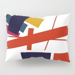 Geometric Abstract Malevic #12 Pillow Sham