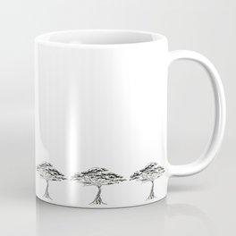 Whistling Thorn , Zen Bonsai African Tree Coffee Mug