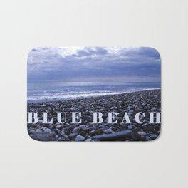 BLUE BEACH - SICILY - ITALY  Bath Mat