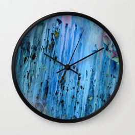 Blue Cave Wall Clock
