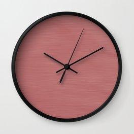 Hand Painted Dark Rose Gold Wall Clock