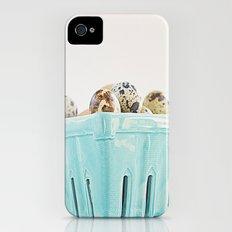 Mi cesta turquesa. iPhone (4, 4s) Slim Case