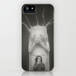 I am Your Shadow iPhone Case