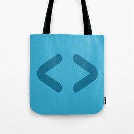 HTML - Code Icons Tote Bag