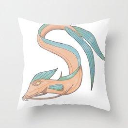Seadragon Throw Pillow