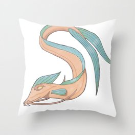 Seadragon Throw Pillow