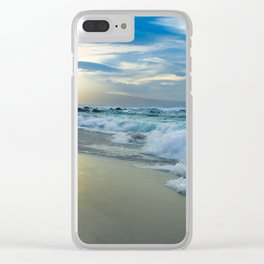 One Dream Sunset Hookipa Beach Maui Hawaii Clear iPhone Case