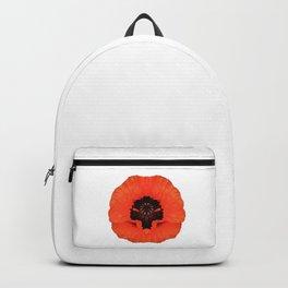 Poppy canvas, flowers, summer Backpack