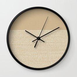 Riverside - Sand Wall Clock