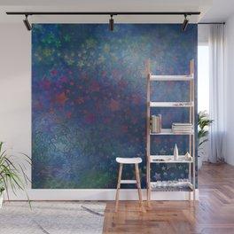 """""""Indigo night of stars and dreams"""" Wall Mural"""