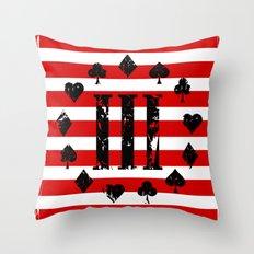 Three Percenter Aces USA Flag Throw Pillow