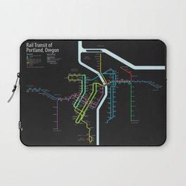 Rail Transit of Portland, Oregon Laptop Sleeve