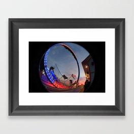 Going in Circles Framed Art Print