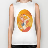 sailor venus Biker Tanks featuring Sailor Venus by Tae V