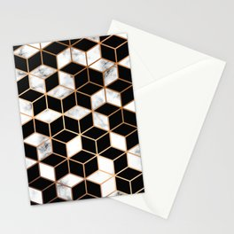Marble & Geometry 005 Stationery Cards