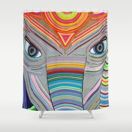 Elefante Shower Curtain