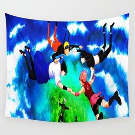 flying ninja Wall Tapestry