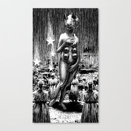 The birth of Venababbglabbblourghh Canvas Print