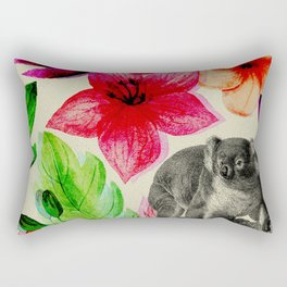 Jungle koala Rectangular Pillow