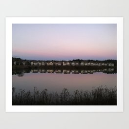 Reflections of Home Art Print
