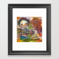 Run With The Wind Framed Art Print