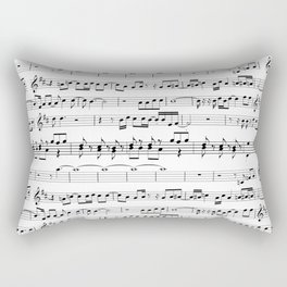 Musical Rectangular Pillow