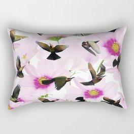 Bee-eater birds fantasy Rectangular Pillow