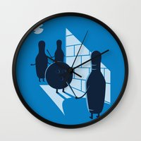 vendetta Wall Clocks featuring Vendetta by grodas