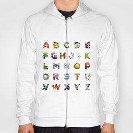 Alphabet & Objects Hoody