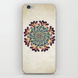 Maple Samaras Flower Mandala iPhone Skin
