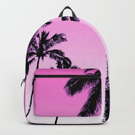 Retro tropical palms Backpack