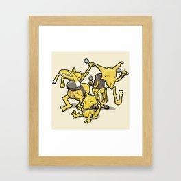 Pokémon - Number 63, 64 & 65 Framed Art Print