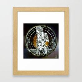 """Astrological Mechanism - Virgo"" Framed Art Print"