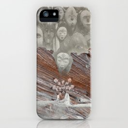 Sacred maidens iPhone Case