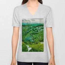 Cheddar Gorge Unisex V-Neck