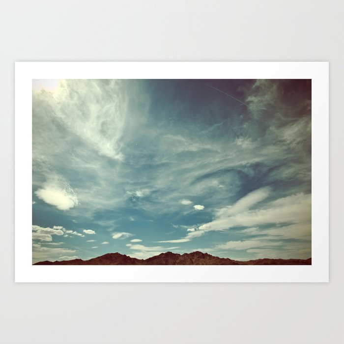 Clouds and Sky Art Print