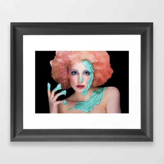 Cupcake Framed Art Print