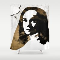 sister Shower Curtains featuring Sister Luke by Ed Pires