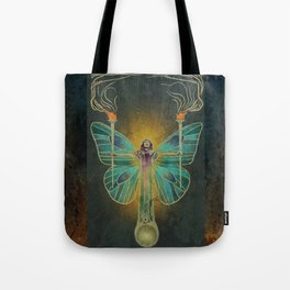 Keeper Of The Ancient Flame Tote Bag