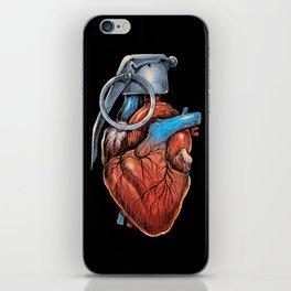 Heart Grenade iPhone Skin
