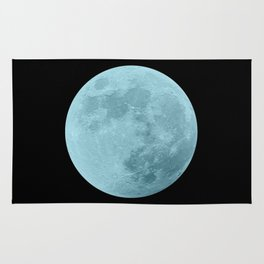BLUE MOON // BLACK SKY Rug