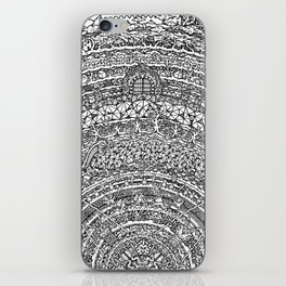 Mandala Dante Inferno iPhone Skin