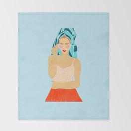 Summer Vibes Throw Blanket