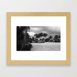 Open Seats Framed Art Print