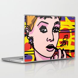 Breakfast with Audrey Laptop & iPad Skin